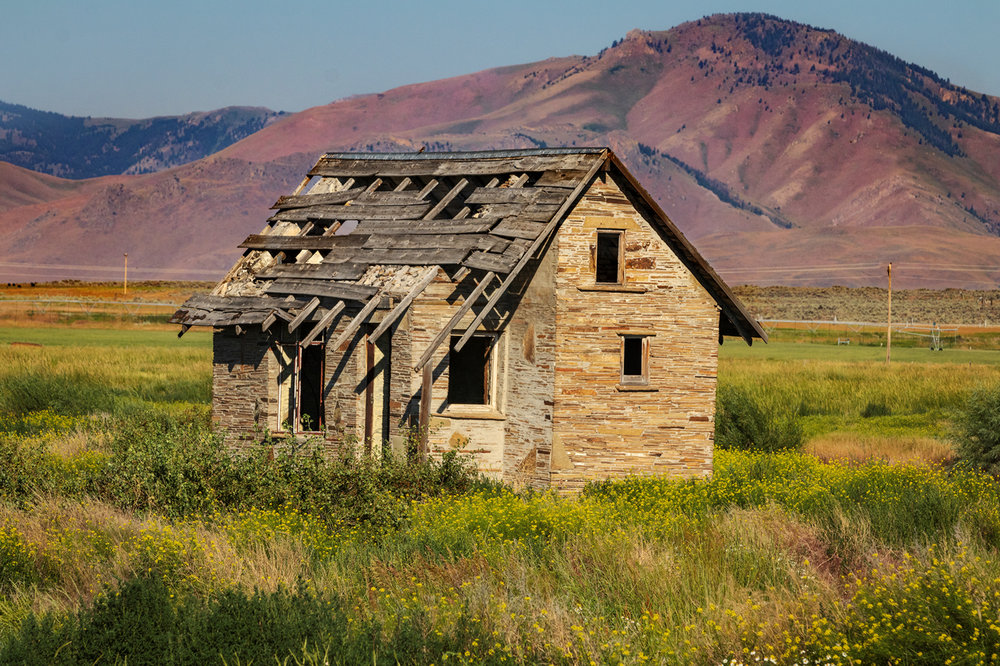 Arco homestead along the Lost River