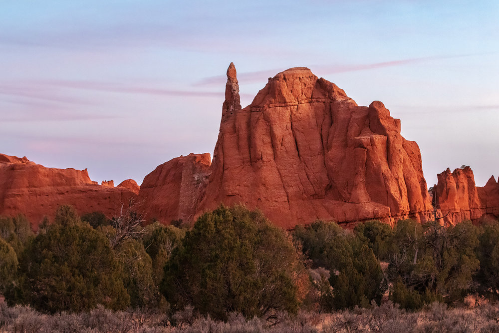 Fins and spires, Kodachrome Basin