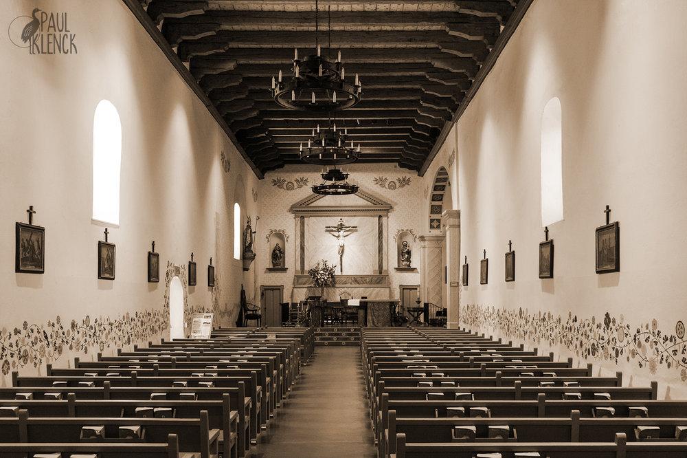 Mission San Luis Obispo nave