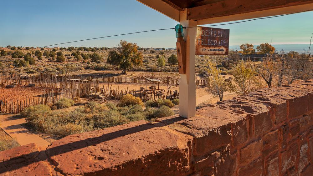 Deseret Telegraph, Winsor Castle, Pipe Spring National Monument, Arizona