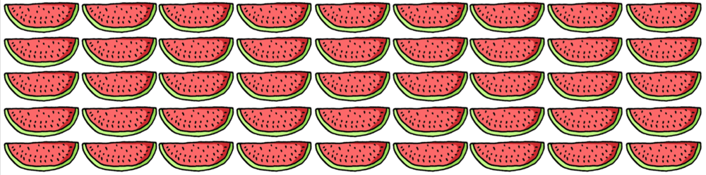 Watermelon Luke Saliba Banner