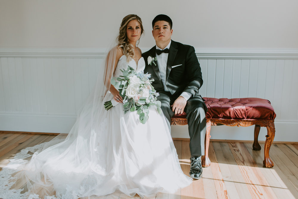 "EMILY TERHUNE, 2018 - ""Deniece was so easy to work with in the weeks leading up to our wedding day, and she exceeded our expectations when the day came. As soon as she started working on the day-of timeline, I could see that close attention to detail was a priority for her, and I knew I could trust her to do the job well. In addition to capturing special moments from our rehearsal dinner, which we didn't even ask her to do, Deniece creatively and beautifully captured moments from our wedding day that my family and friends cannot stop looking through and reliving. My husband and I felt at ease the whole day because she handled and guided our large bridal party from morning until the sparkler send off. Deniece was always professional and a pleasure to work with, but aside from her friendliness and easy-going spirit, she took absolutely stunning photos and I would recommend her to anyone. We can't thank you enough Deniece!"""