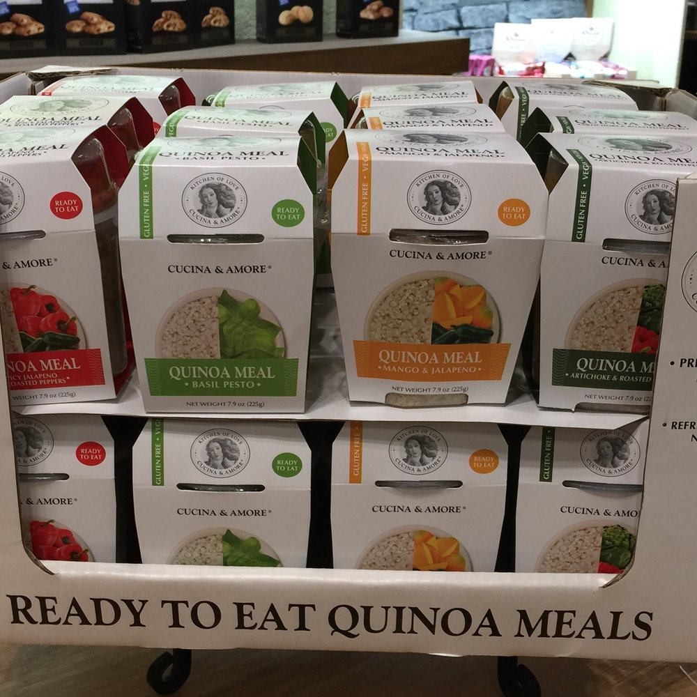 Game changing Quinoa on the go