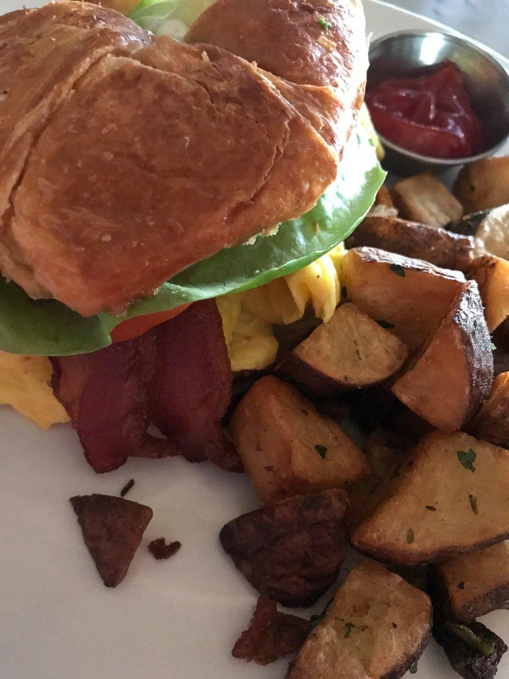 TASTE MELROSE - BREAKFAST CROISSANT SANDWICH