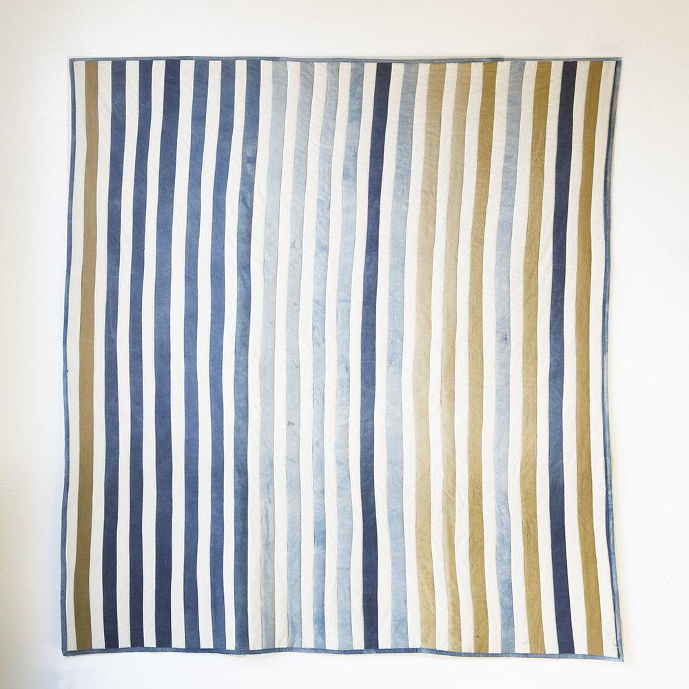 Watercolor Stripe Quilt