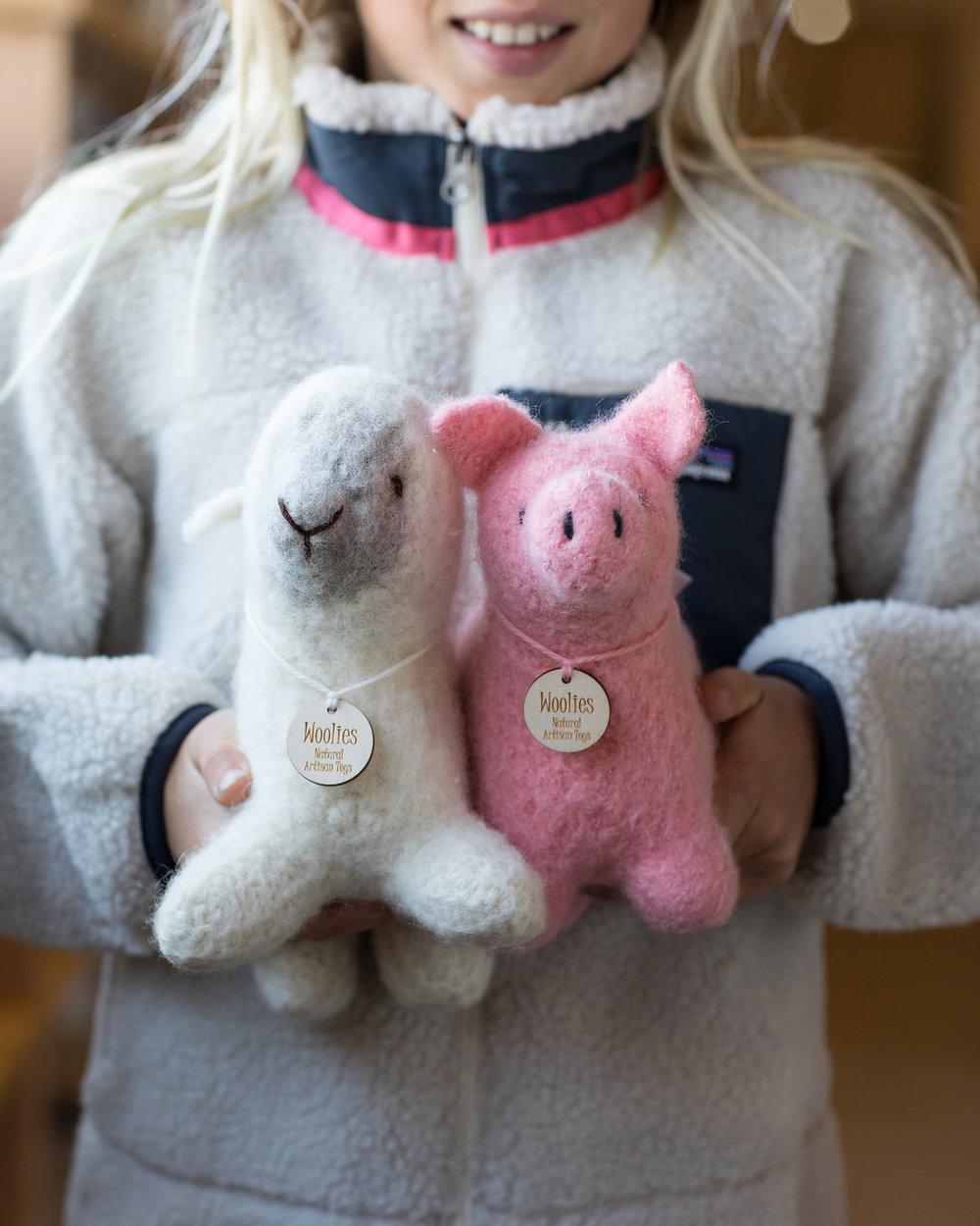 Wool Farm Animals