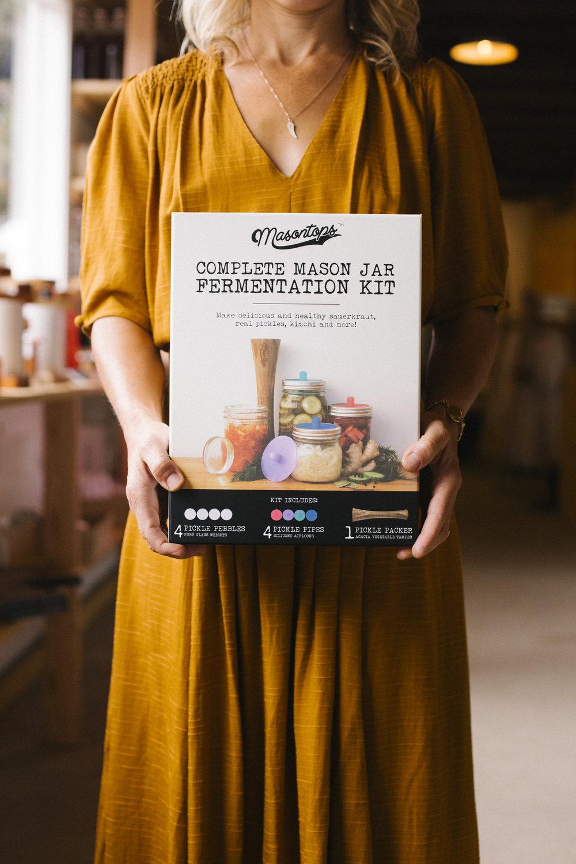 Mason Jar Fermentation Kit