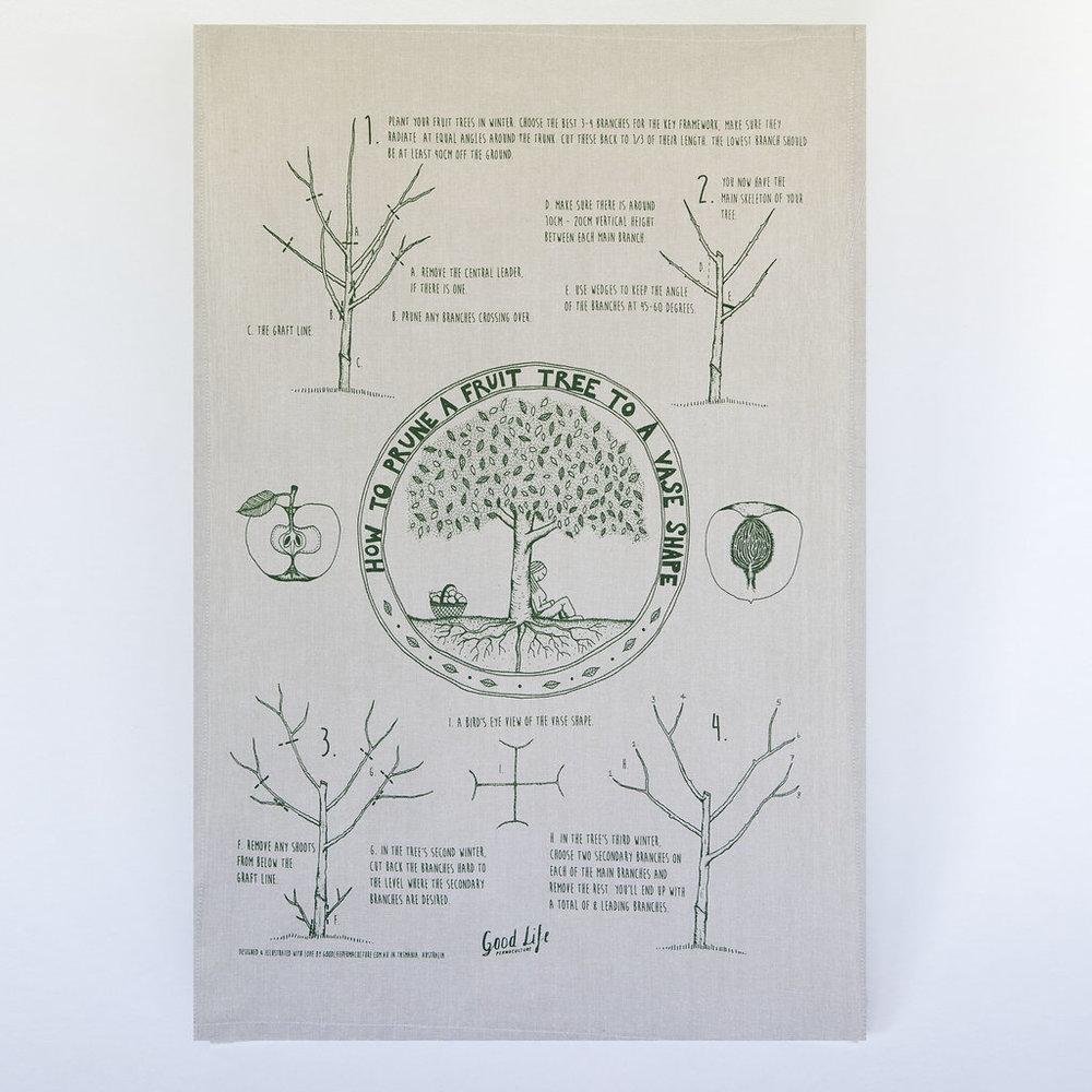Permaculture Tea Towel