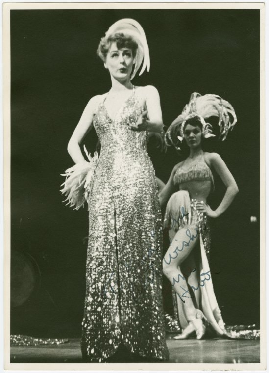 June Havoc as 'Gladys Bumps' in  PAL JOEY , 1941