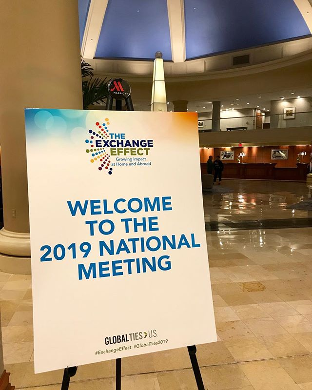 We're attending the #GlobalTies2019 #ExchangeEffect National Meeting to improve our efforts to bring #IVLP and the world to #ColumbiaSC. Kicking it off with a keynote by Columbia, #SouthCarolina native & hero Astronaut Charles F. Bolden, Jr.! @globaltiesus @nasa #STEM