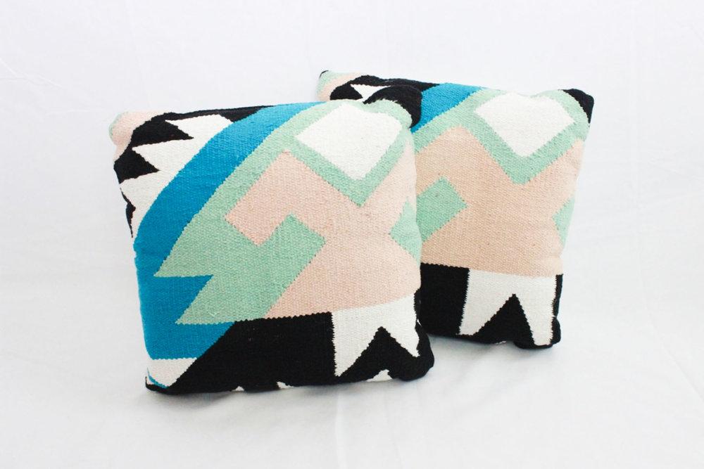 Julia Pillows - Scavenged Vintage