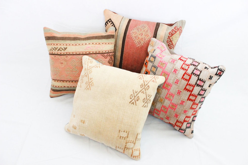 Kilim Pillows - Scavenged Vintage