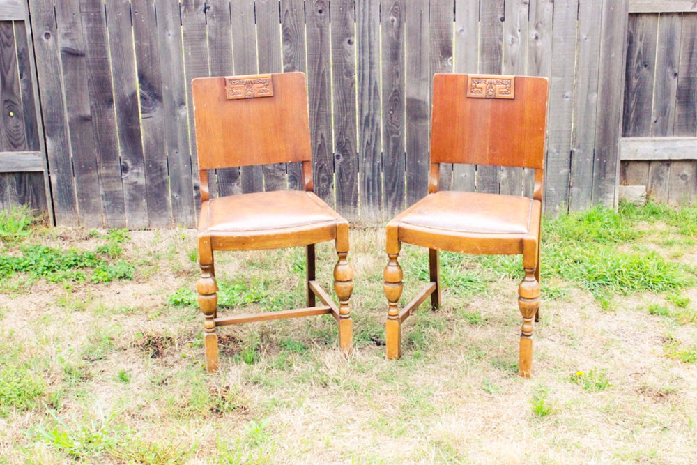Tito Chairs - Scavenged Vintage