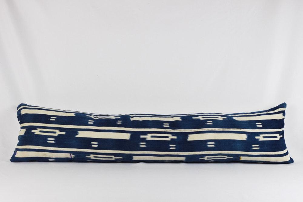Shibori Lumbar Pillow - Scavenged Vintage Rentals.jpg
