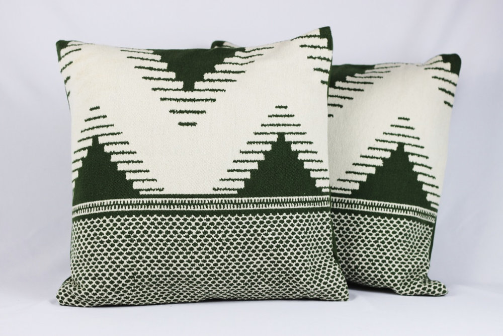 Azrael Pillows - Scavenged Vintage Rentals