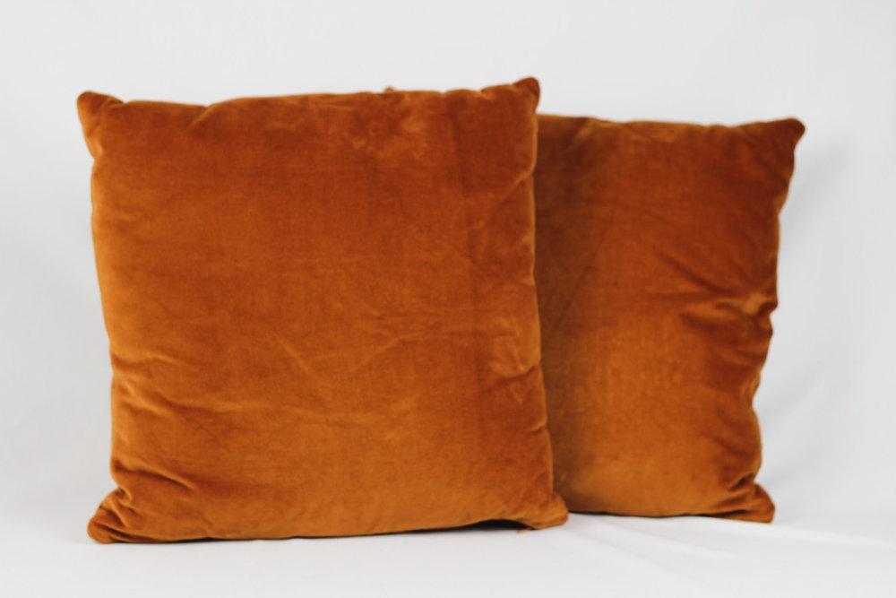Copper Velvet Pillows - Scavenged Vintage Rentals.jpg