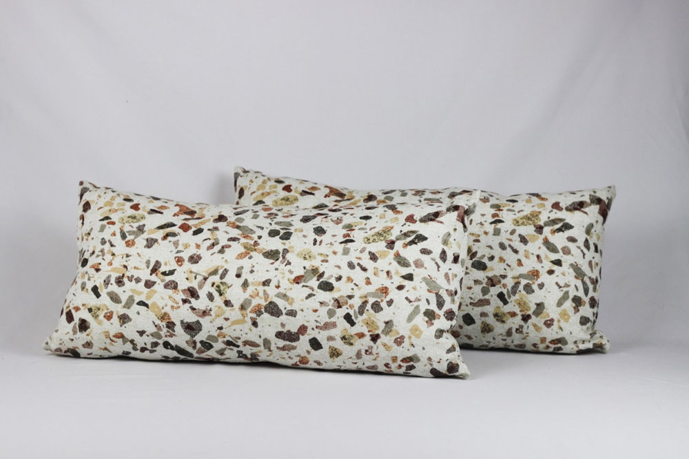 Terrazzo Pillows - Scavenged Vintage Rentals
