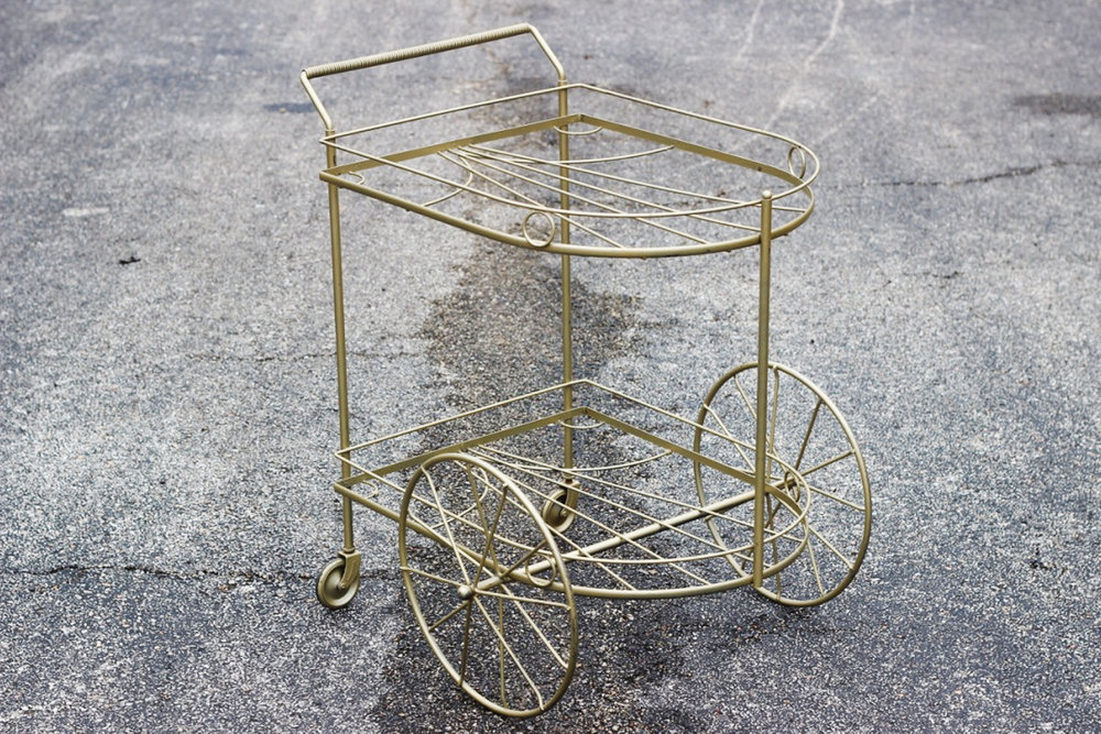Victoria Bar Cart - Scavenged Vintage