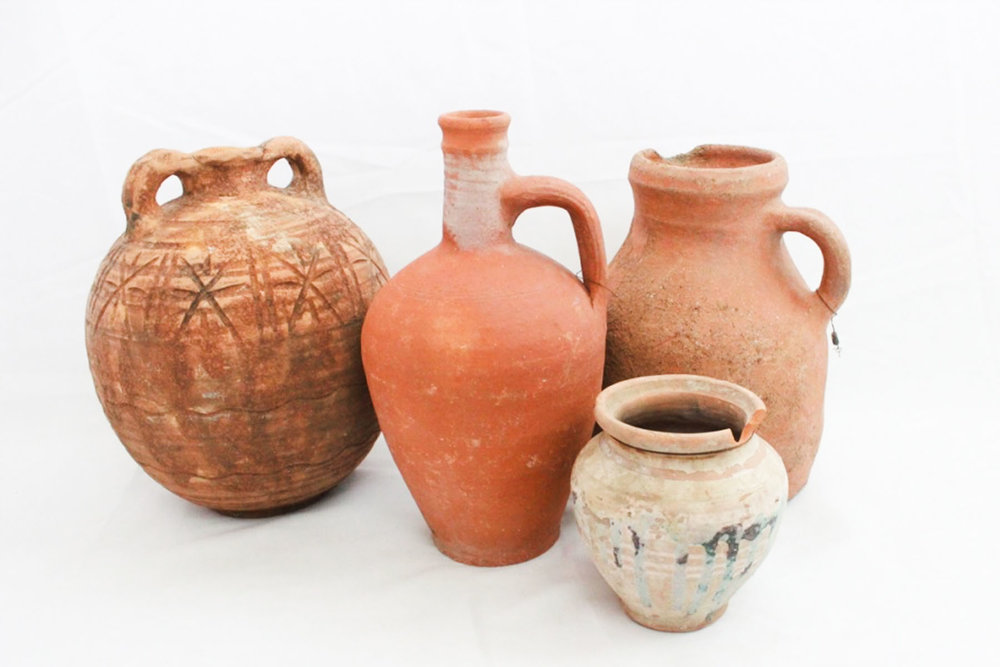 Turkish Pottery - Scavenged Vintage Rentals