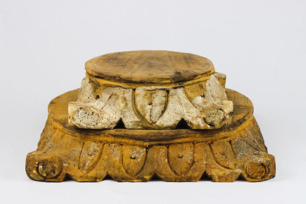 Wood Cake Stands - Vintage Rentals Austin