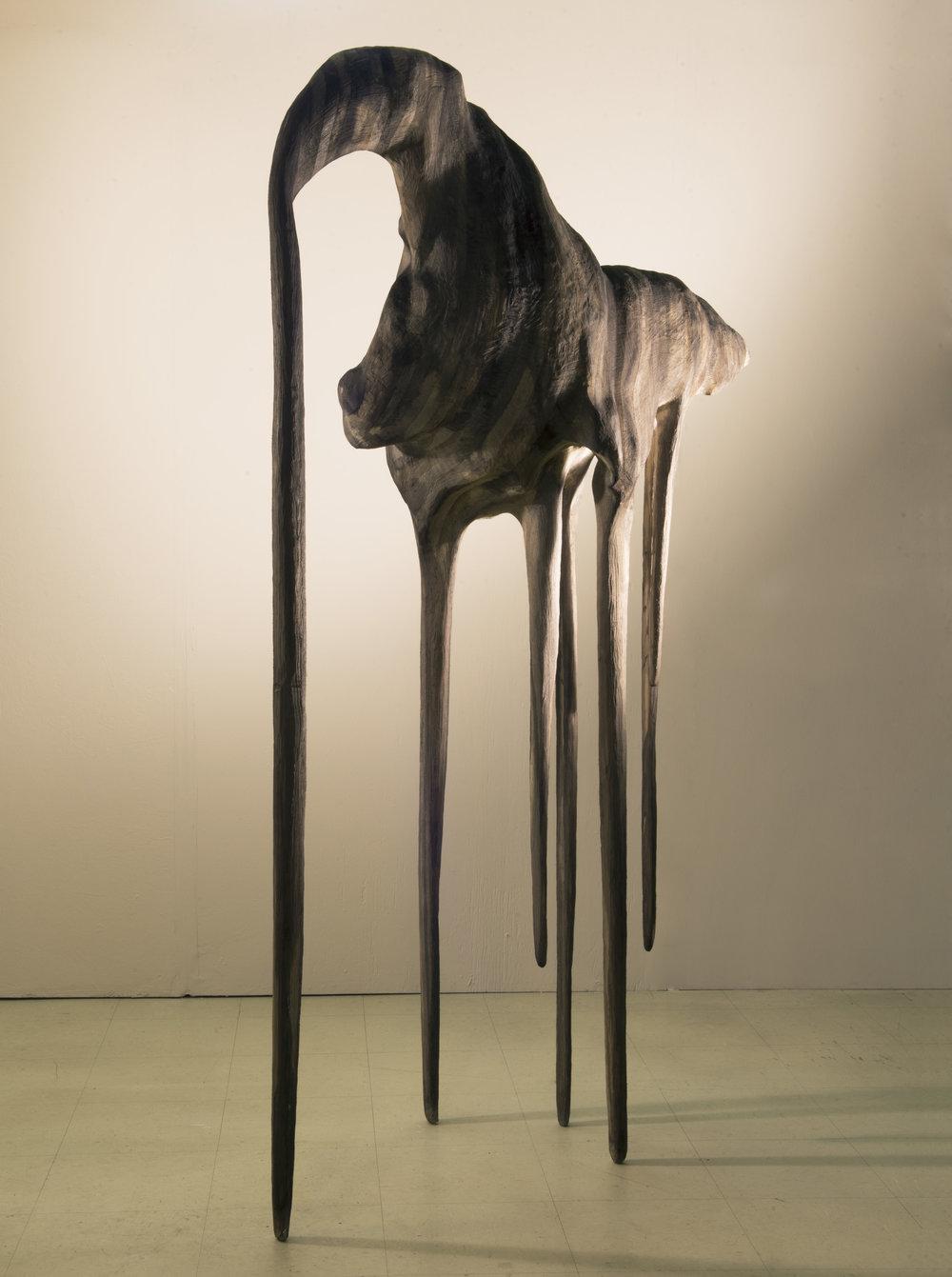 Tracing the haze // A long-legged shadow