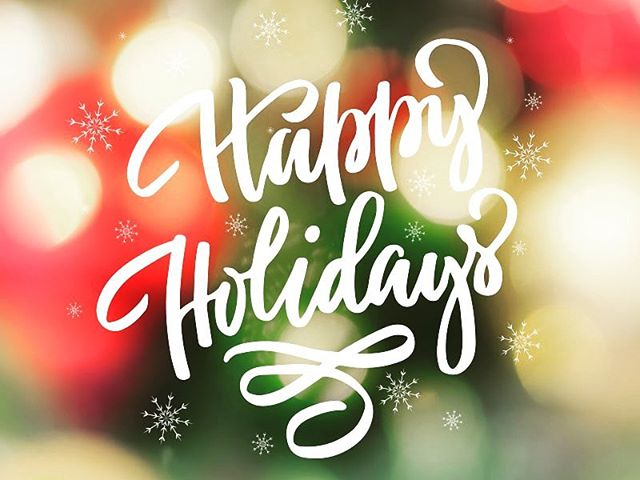 Wishing everyone Happy Holidays from all of us at Heirloom!  May you spend some time with your loved ones, we are taking a break today, and tomorrow to spend time with our families.  See y'all Thursday.  #heirloomroxnc #happyholidays