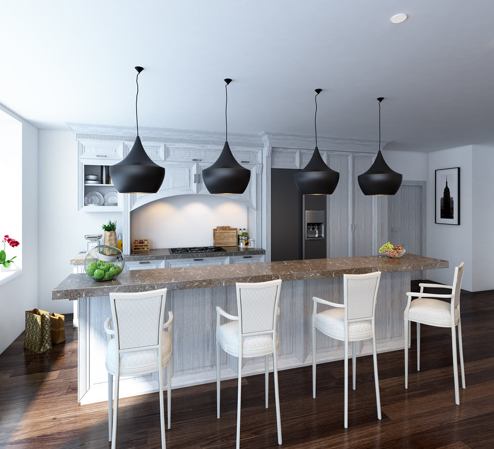 Classic Kitchen Rendering