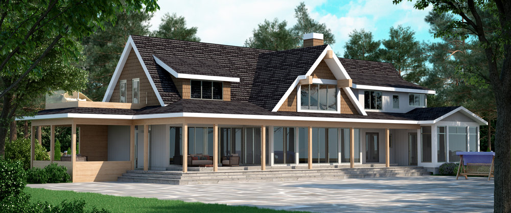 Readman residence rendering