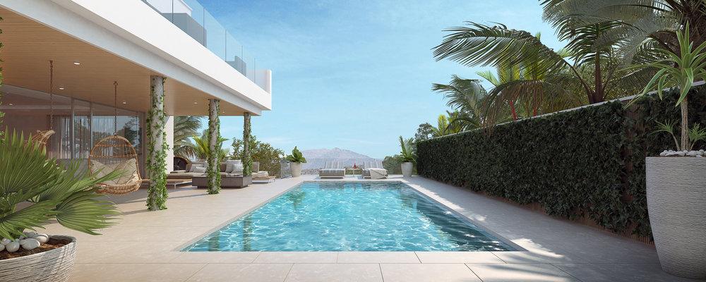 Mallorca Villa Pool Shot