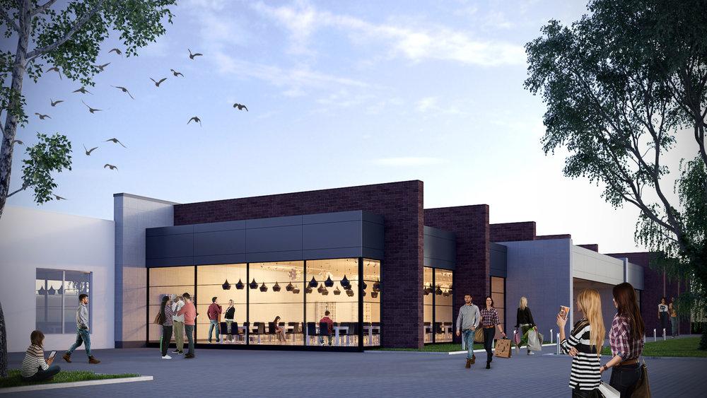 Learning center rendering