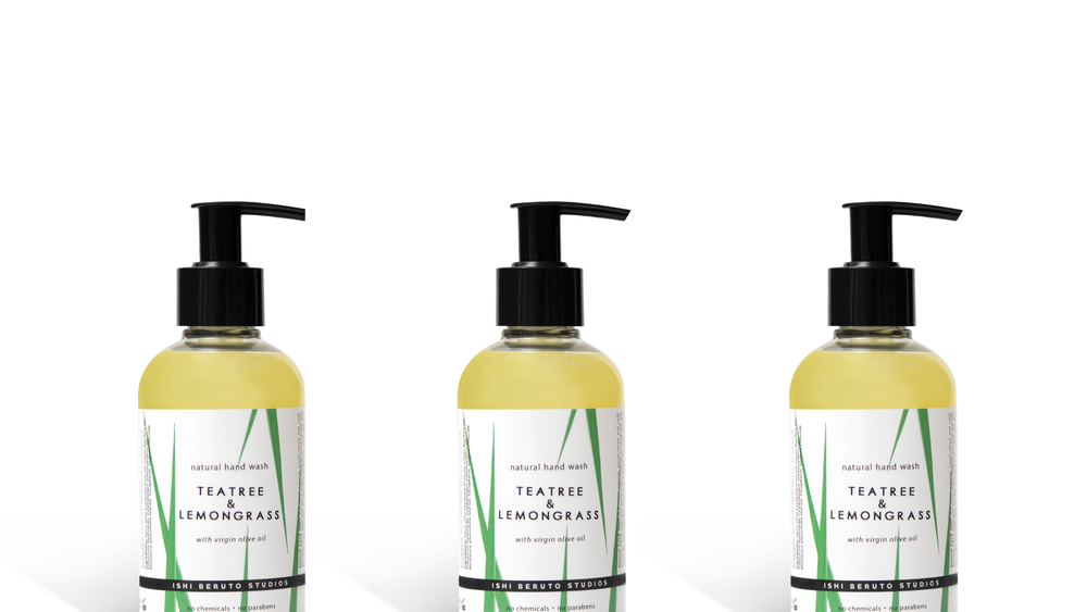 New!  Hand Wash - 100% natural liquid soap based on virgin olive oil