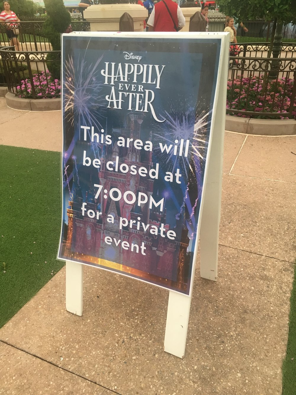 "Going to a ""private event"" in the Magic Kingdom felt so fancy!"