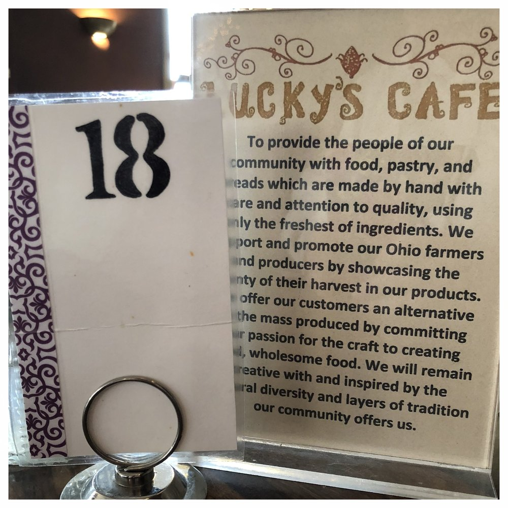 I really like that Lucky's supports local farmers and the community in general.
