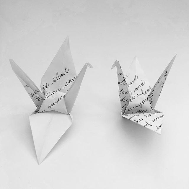 Cranes No. 35 & 36 (b) #craneproject35 #craneproject36 #cranebside