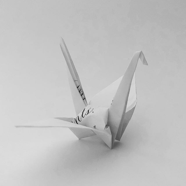 Crane No. 38(b) #craneproject38 #cranebside