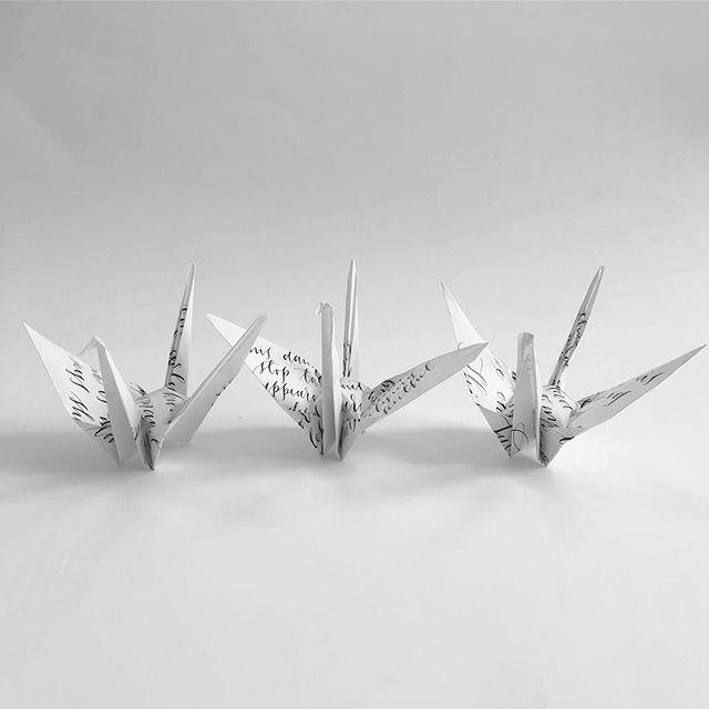 Cranes No. 40, 41, & 42(b) #craneproject40 #craneproject41 #craneproject42 #cranebside