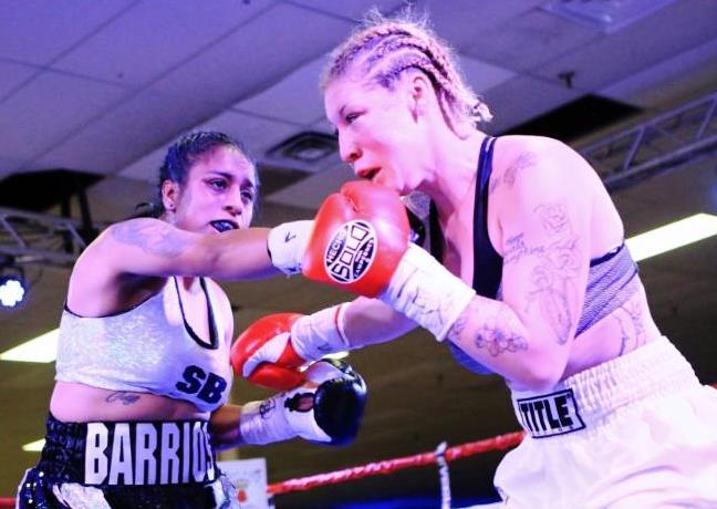 Selina Barrios vs Jasmin Clarkson
