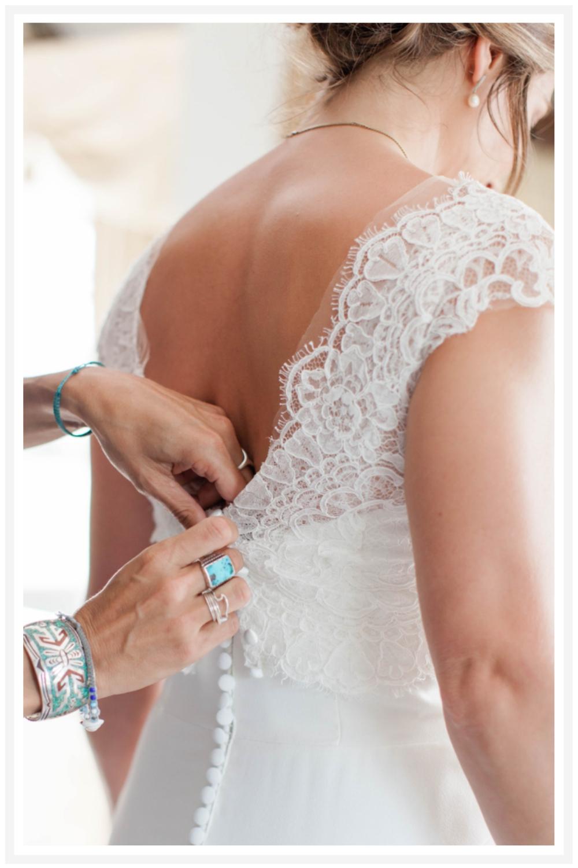 Bride Preparation Photo