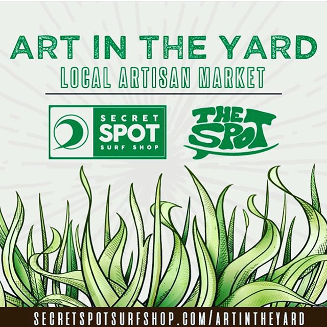 Come check us out tomorrow at Art in the Yard at Secret Spot from 1-5.  We got stuff for everyone 😊 Lots of cool 😎 vendors to check out #obxbalance #travelingacupuncturist #worktotravel #artintheyard #🌏🌎🌍