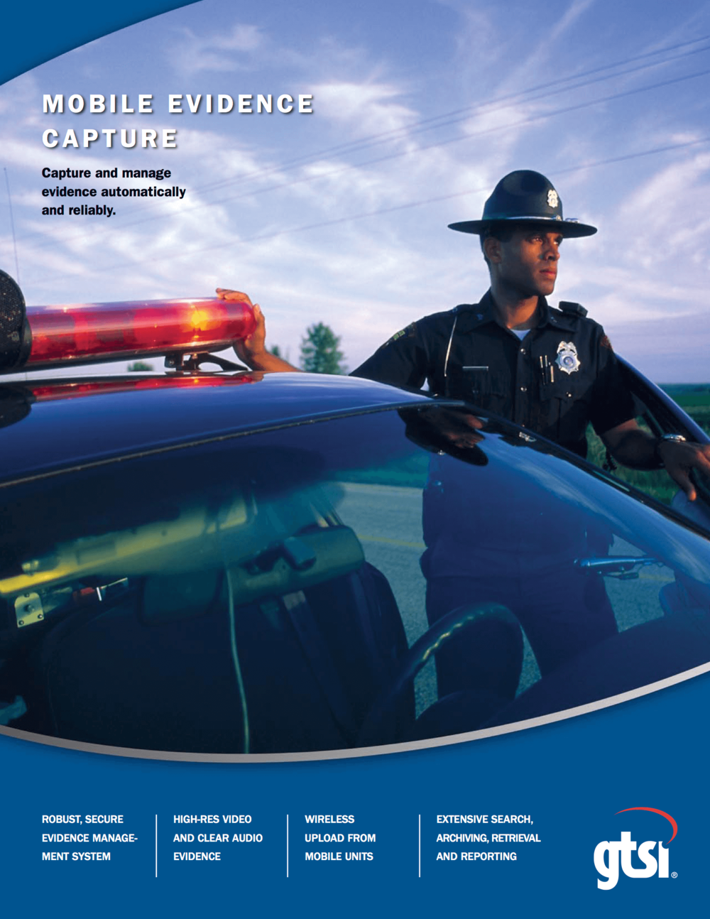 Mobile Evidence Capture brochure