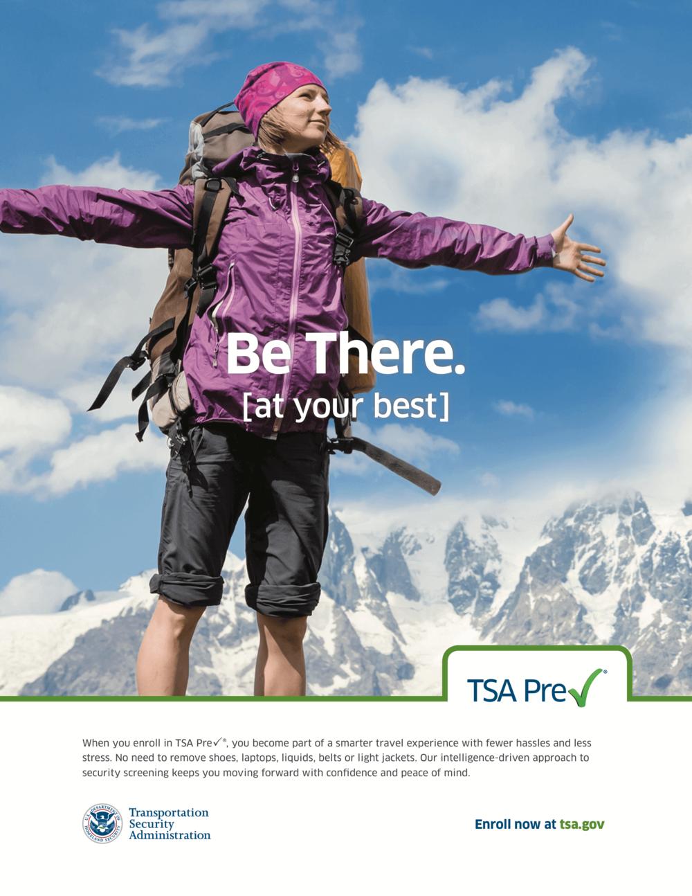 Print ad: premium travelers