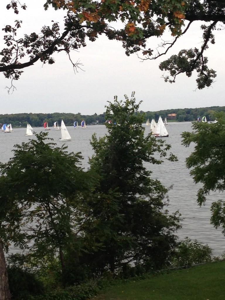 Wayzata Yacht Club Sail boats