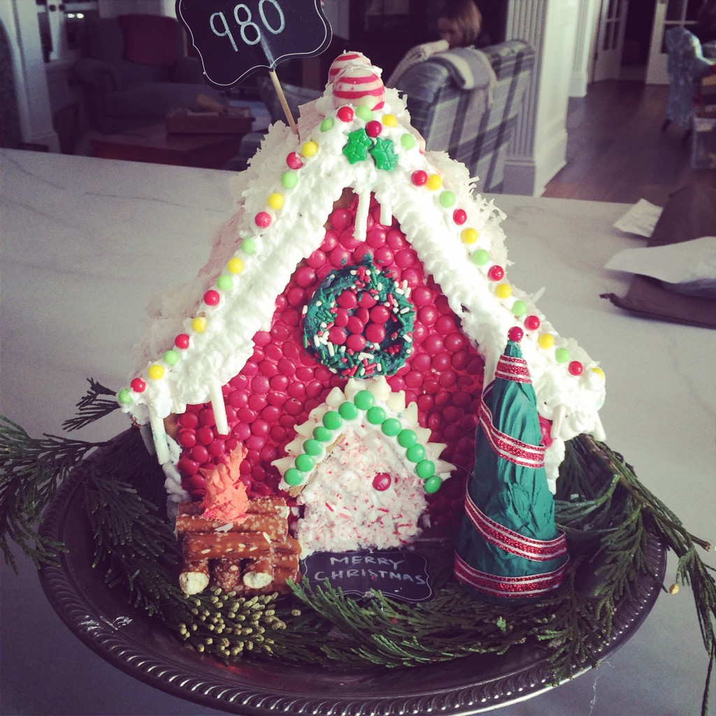 Loving the Gingerbread house!