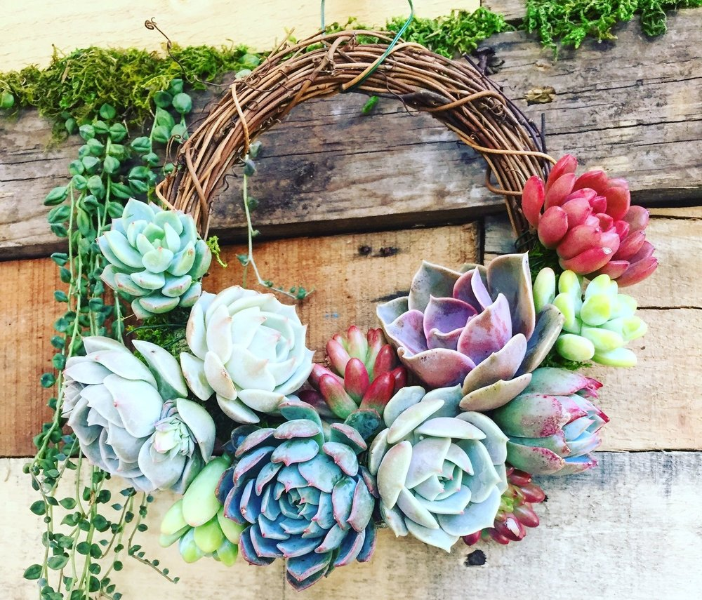 Wreath & Accessories Workshops - Making wearable art or wreaths from sustainable materials teaches more than just the craft of accessorizing or decorating.