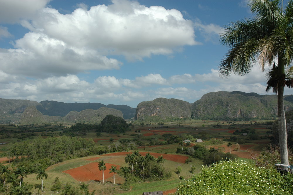 "Viñales Valley Day Tour and Discussion - Tour the breath-taking landscape of Valle de Viñales (""Viñales Valley"") encircled by mountains and full of lush farms and lively villages. Enjoy an underground river boat ride, tour a tobacco farm, and participate in cigar rolling demonstrations. Transportation & Lunch Included."