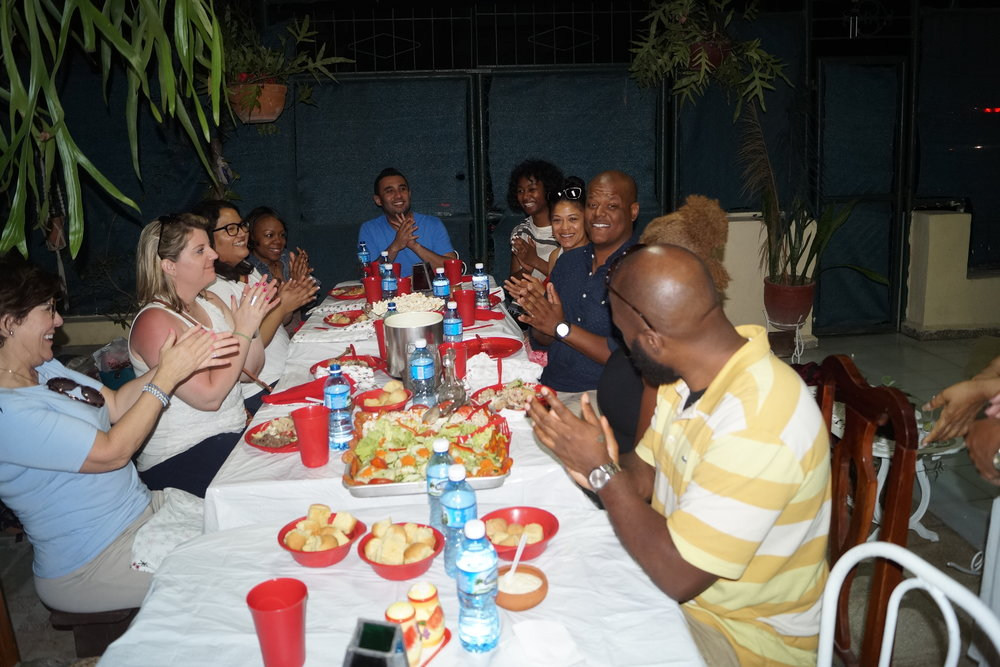 Meal with Friends - Enjoy a selection of cuisine at a hand-selected Cuban restaurant with our friends and family and receive a presentation on and discuss your topic of choice such as Cuban Law & Governance (with Cuban Lawyers), Operating a Business in Cuba (With Cuban Entrepreneurs), or more, with Cuban professionals to expand your network.
