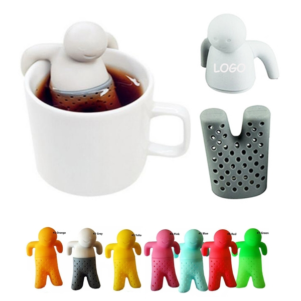 Float Man Tea Infusers with Logo