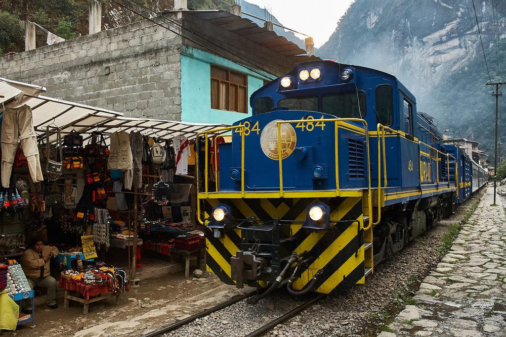 Train in Peru
