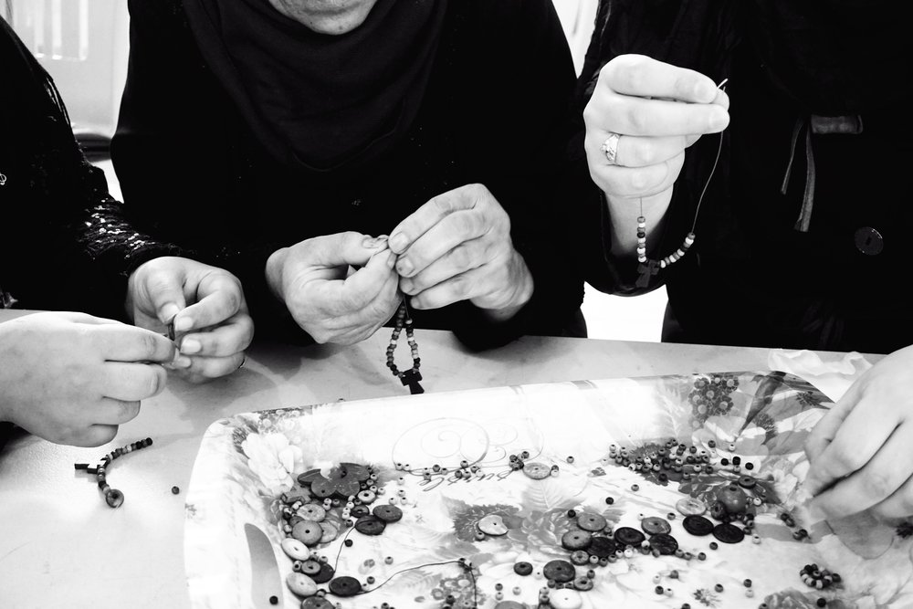 Handmade in Lebanon - by Syrian and Iraqi refugees rebuilding their lives in Beirut