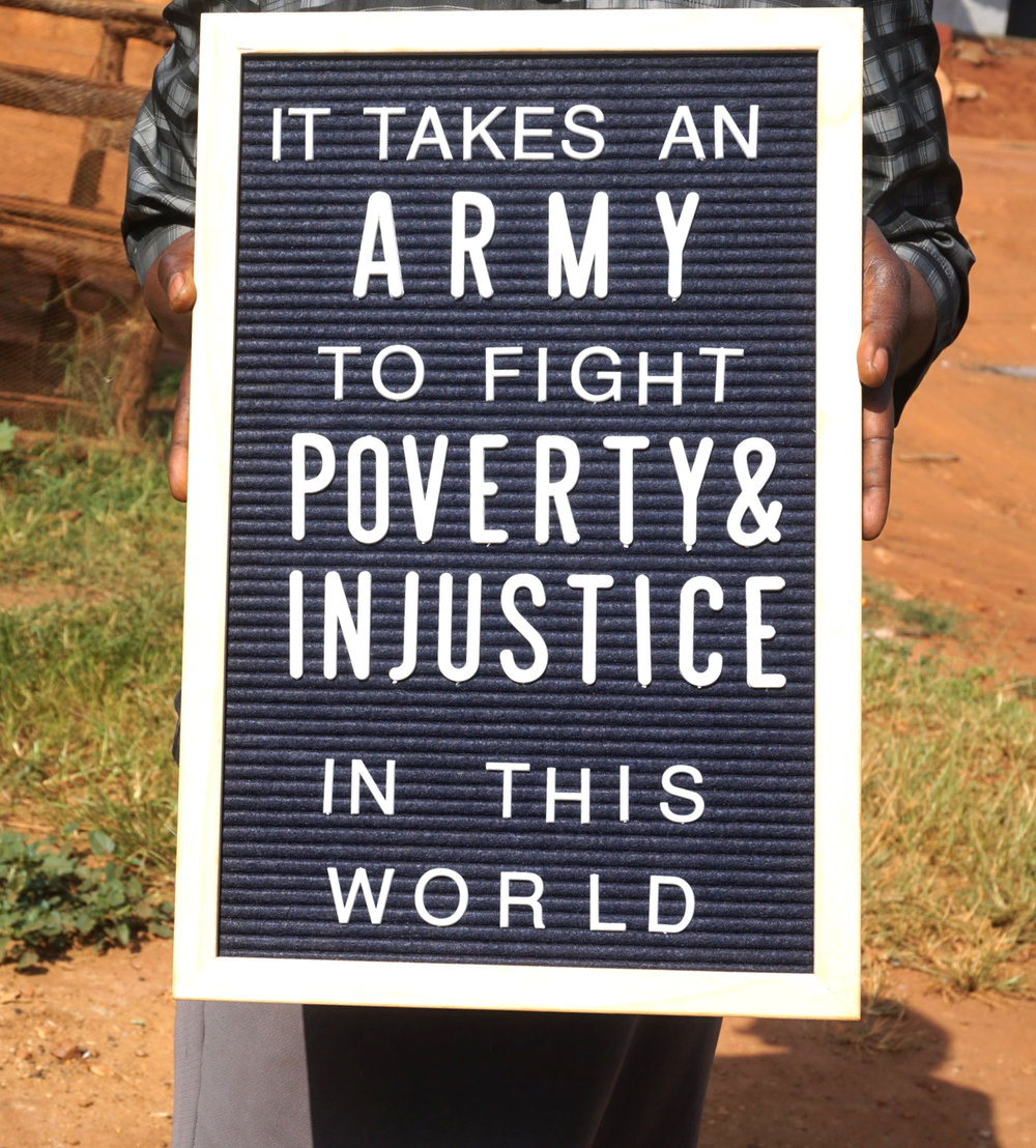 #3 Our Army of Supporters - We began taking monthly donations in 2018. We have been overwhelmed with the support of each person. It has been a game changer for us in Uganda. We are able to consistently buy supplies for the hospital ministry, pay rent, provide meals, school fees and MORE. We appreciate each member of our army that is fighting poverty & injustice every single month. You can find out more info about joining the EV army by clicking here.